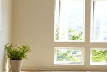 Windows with no coverings may leave you feeling exposed.