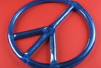 Add peace and love to your home with hippie style decor.