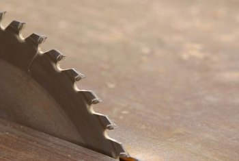 Use a multi-tooth carbide tipped circular saw blade for cutting fiberglass.