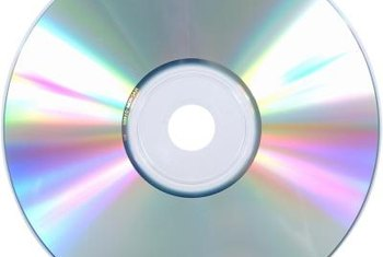 A blank write-protected disc is identified as a CD-R.