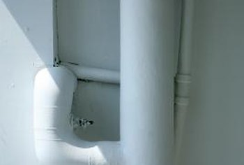 Pipe insulation is made to fit specific pipe diameters.
