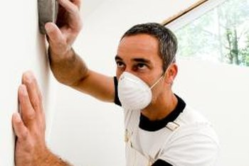 Sanding is a fast way to smooth joint compound, making it ideal for large jobs.