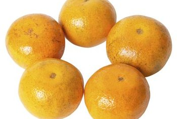Tangerines grow well in certain climates.
