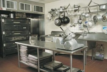 Fixed assets are tangible, long-term resources, such as a restaurant's kitchen equipment.