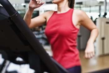 The longer you walk on a treadmill, the more calories you burn.