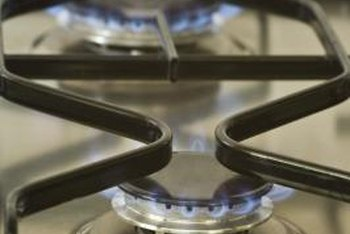 Sealed burners make it easy to clean a gas stove's top.