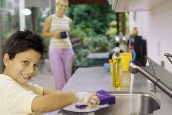 You can deodorize your sink with natural cleaning products.
