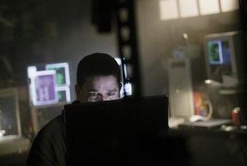 Hackers can use unsecured networks to easily access your computer and data.