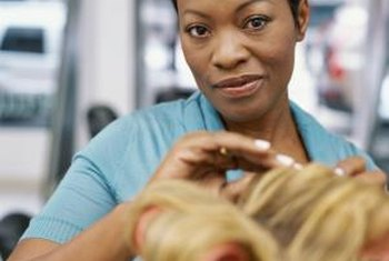 Most hairdressers work part-time or independently.