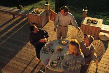 Add re-sealing the deck to your spring cleaning list to extend the life of the wood.