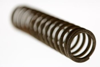 Measure garage door springs while the springs are relaxed.