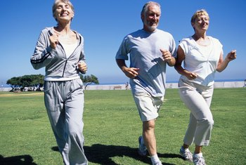 Those in their 50s can benefit from jogging.