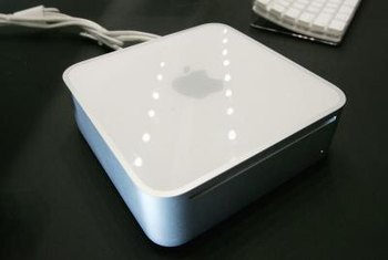 Utiliza una Mac Mini con un iPad.