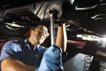 Race car mechanics earn more in some states.