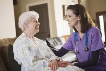 LPNs may work in people's homes or in clinical settings.