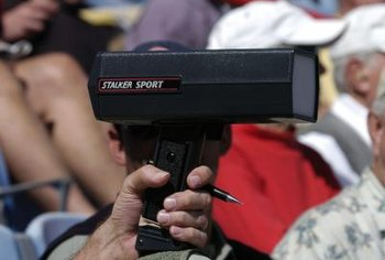 Quality radar guns record speed accurately within one mile per hour.