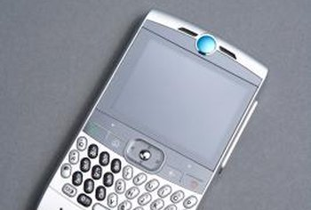 The BlackBerry Storm 9530 is one of several models compatible with Skype Mobile.