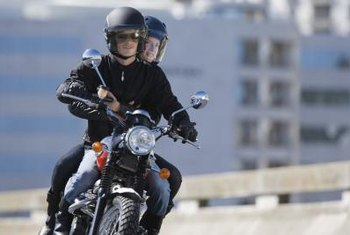 Many people learn to ride a motorcycle through an instructor-led course.