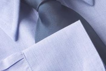 Keep shirt collars and cuffs stiff with starch.
