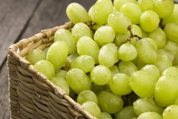Seedless grapes thrive in full sun exposure.