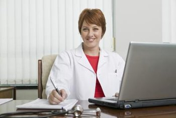 Medical records professionals keep track of patient information.
