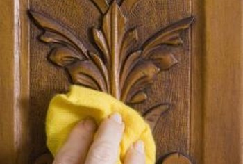 Use care around carved details.