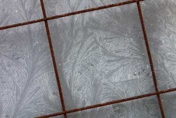 Changing the color of the grout can make your floor tiles more striking.