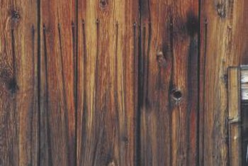 Even with a stain, most wood has more than one color.