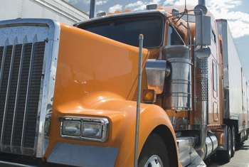 Trucks require state and federal documentation to operate legally.