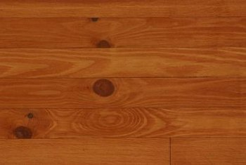Hardwood works for finishing walls as well as floors.