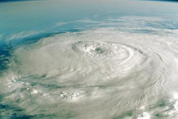 The increase in the strength and frequency of hurricanes is a complication of the greenhouse effect.