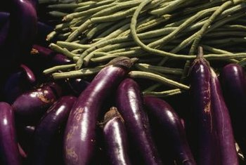 Green beans and eggplant are one set of compantion plants.
