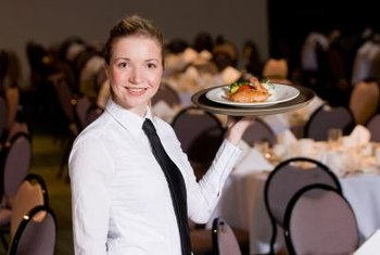 An exceptional food server anticipates her customers' every need.