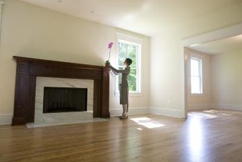 Select a hardwood or painted molding based on your design preference.