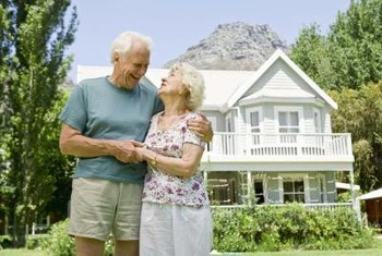 An older home retains its value when it's maintained and updated.