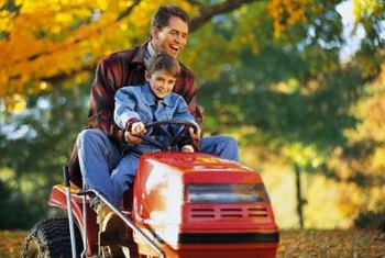 Use the model number to find out when your Poulan riding lawnmower was made.