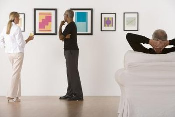 Many types of partnerships exist to aid in contract selling of art and paintings.