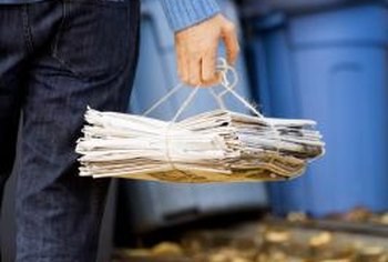 U.S. citizens recycled more paper than almost any other recyclable product in 2009.