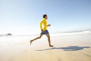Choose a soft, forgiving running surface to lessen impact on joints.