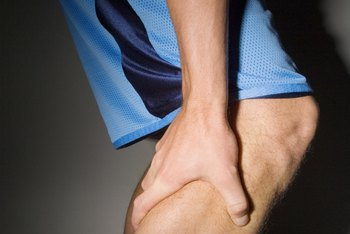 Don't run through a leg cramp.