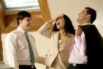 Laughter in the office can make employees more productive.