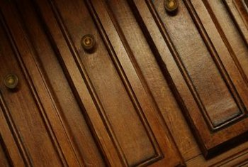 Cabinet molding cuts are highly visible.