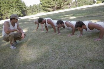 The pushup is an important component of the burpee.