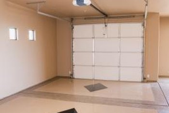 A proper-lit garage can be a great space for woodworking or other crafts.