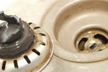Gurgling from the sink is usually a sign of blocked plumbing vents.