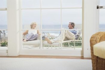 Beach house windows need protection when beach weather turns severe.