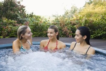 Clean a hot tub often if it has multiple users on a daily basis.