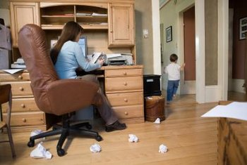 Working from home may qualify you for business deductions.