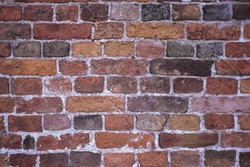 Red brick contains a range of colors.