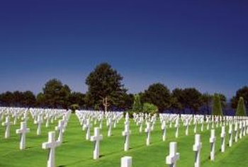 France granted the U.S. territory a cemetery for casualties of the Normandy invasion.